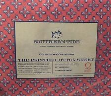 Brand New Southern Tide Pink Queen Sheet Set Skipjack Collection