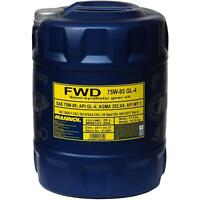 20  Liter Original MANNOL Getriebeöl FWD Getriebeoel 75W-85 API GL 4 Gear Oil