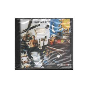 Jovanotti CD Lorenzo 1992 /  Mercury – 526 961-2 Sigillato