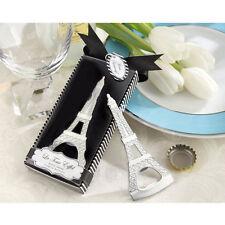 Wedding Gift Metal Eiffel Tower Bottle Opener Party Favor Elegant Box 2392