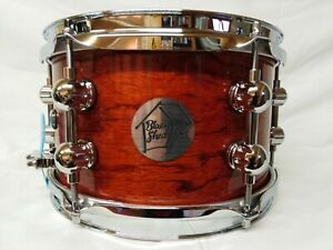 SOLID BUBINGA SNARE DRUM - 10 x 6 - HAND CRAFTED - BRAND NEW - CHRISTMAS GIFT