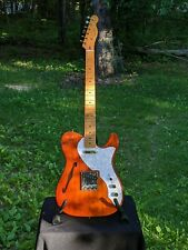 Squier Classic Vibe '60s Telecaster Thinline Electric Guitar - Natural w/ Extras