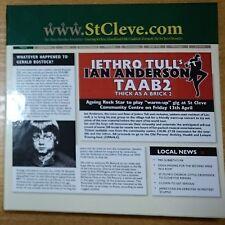 Jethro Tull`s Ian Anderson - Thick As A Brick-2 CD+DVD Promo Box (Japan) NEW
