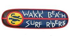 Planche de surf déco PLAQUE WAIKIKI plage SURFRIDERS Maui Hawaii design exclusif