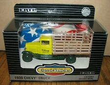Ertl Classic Vehicles 1930 Chevy Delivery Stake Truck 1:43 W J KENNEDY DAIRY CO