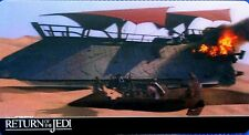 STAR WARS, RETURN OF THE JEDI, TOPPS 2014 WIDEVISION 3D, CARD # 13, BARGE