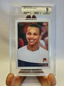 2009-10 Topps 321 Stephen Curry RC - BGS 9 - 9|9|9|9 True MINT!