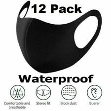 12 PCS - Reusable Mask Washable Face Cover Mouth Protective [SHIP NOW]