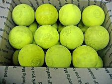 New listing 22 Used Practice Lacrosse Balls all yellow STX brand