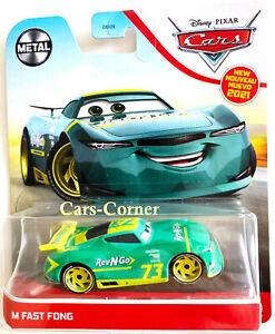 Disney Pixar Cars 3 M Fast Fong aka. Rev-N-Go No.73 Next Generation Racer OVP