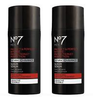 2 Pack No7 Men Protect & Perfect Intense Advanced Serum,1 fl. oz. Each