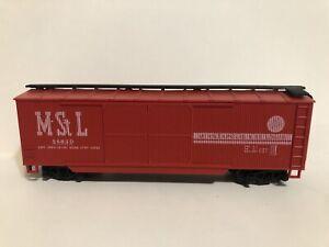 Minneapolis & St. Louis Double Door / Wood Box Car #54650