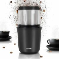 Duronic Grinder Grinding Mill Coffee Beans Herbs Spices Nuts Seeds Pulses Fruit