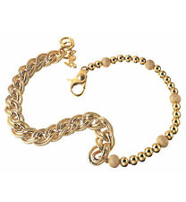 D&G Dolce & Gabbana Halskette Vintage DJ0692 Collier Edelstahl gold OVP
