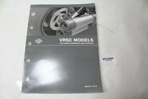 2007 V-Rod VRSC Harley parts catalog 99457-07A manual book WOW!!!!! EPS23494