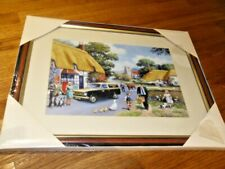 RINGTONS COLLECTABLES, 'KEVIN WALSH', Framed Picture, 'Village Scene',SEALED/NEW