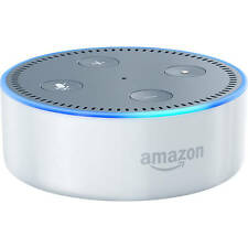 Amazon - Echo Dot (2nd Generation) - White - with Alexa Voice - VG
