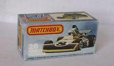 Repro Box Matchbox Superfast Nr.28 Formula Racing Car