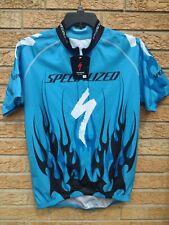 Specialized XL Cycling Jersey Mens Half Zip Made in Italy NEW Flames Tribal