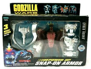 Power Up Snap On Armor Rodan 1995 Trendmasters RARE VTG Figure Mecha Godzilla