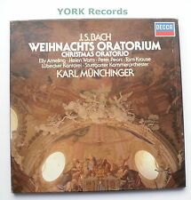 414 445-1 - BACH - Weihnachts Oratorium MUNCHINER - Ex Con 3 LP Record Box Set