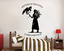 Game of Thrones Jon Snow Winter Is Coming Vinyl Wall Art Sticker Decal Size 550mm X 640mm