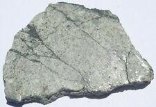 New listing Cuba Viñales meteorite slice 8.103 grams 38x27x4mm Coa melt with shock veins