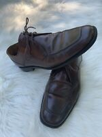 COLE HAAN Size 11 Mens Brown Leather Lace Up Oxford Business Formal Dress Shoe