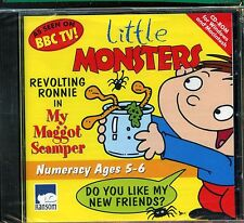 Little Monsters - Revolting Ronnie In My Maggot Sampler PC Rom - New & Sealed