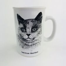 American Shorthair Kitty Cat Coffee Mug Cup Ceramic Papel Freelance
