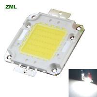 50W LED Chip COB 30V-36V Cool white Integrated Bright Bulb beads for Floodlight