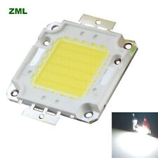 50W LED Chip COB 30V-36V Cool white Integrated Bright Bulb beads for Floodlight