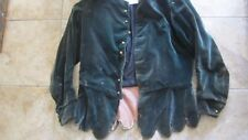 Scarce Antique Victorian VELVET Woman's Dress, c1880, Clothing, Costume, Theatre