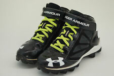 Under Armour Football Cleats 2Y Crusher Jr Black UA 1249794-001