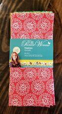 Brand New The Pioneer Woman Fabric Dinner Napkins 18x18 Set of 4 Hyacinth