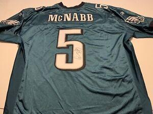 Donovan McNabb Philadelphia Eagles Autograph Reebok On Field Green Jersey Sz 54