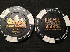 "Harley Davidson Poker Chip (110 ANNIVERSARY) ""Ozark"" Lebanon, Missouri"