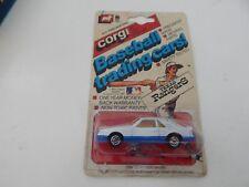 Vintage Corgi Ford Mustang Automobile Die Cast Car Texas Ranger Vehicle NIP 1982