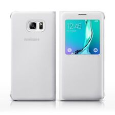 SAMSUNG ORIGINAL S-View Funda para Samsung Galaxy S6 Edge Plus Blanco ef-cg928p