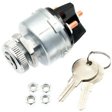 Universal Ignition Key Starter Switch With 2 Keys For Car Tractor Trailer Truck