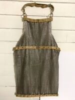 Vintage US Military Butcher's Apron Metal Protective Chain Mail Steampunk