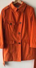 Scapa Womens Orange Coat Jacket Size EUR 40 Size. M Excellent Condition
