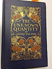 Vintage First Edition of The Unknown Tale by Henry Van Dyke 1912