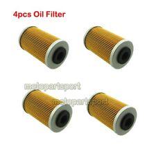 4x Oil Filter For Husqvarna FS450E FS550 FE550E FS650E FS650C FE650E FC450 FC550