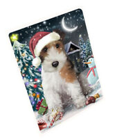 Have a Holly Jolly Wire Fox Terrier Dog Christmas Cutting Board C59313