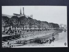 France: AMIENS Le Marche sur l'eau - Old Postcard by Levy LL.34