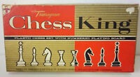 "Vintage 1963 TRANSOGRAM CHESS KING-set with Numbered board-2.5"" King-Complete!"