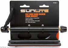 Sunlite Fat Bike Block 135mm Heavy-Duty QR Alloy Fork Mount fit Truck Bed Rack
