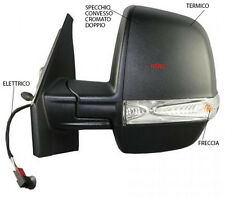 SPECCHIETTO RETROVISORE SX FIAT DOBLO 2000-2010 MECCANICO DA VERN TOP QUALITY