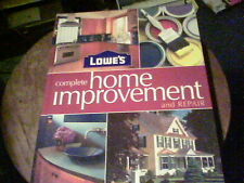 Lowe's complete home improvement and repair 2005 blue